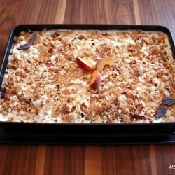 Pfirsich-Cantuccini-Traum mit karamelisierten Mandeln