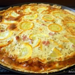 Delicious zucchini tart