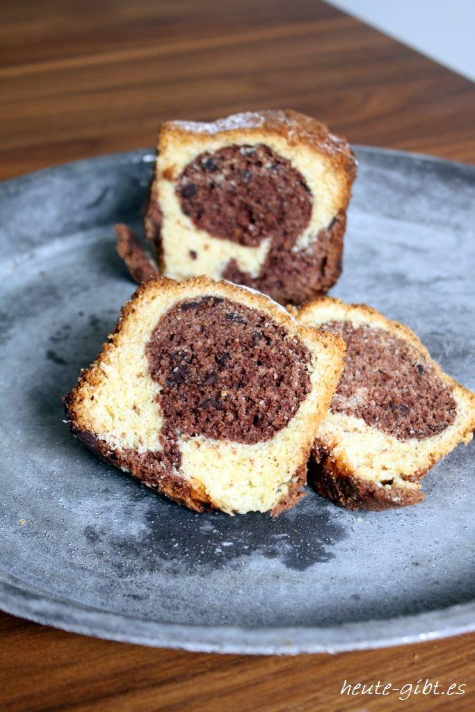 heute gibt es... Eierlikör-Schokoladen-Kuchen