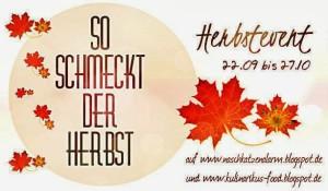 "Blogevent ""So schmeckt der Herbst"""