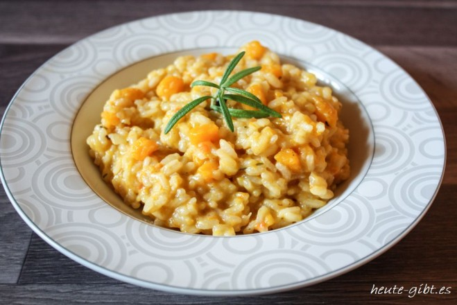 delicious pumpkin risotto