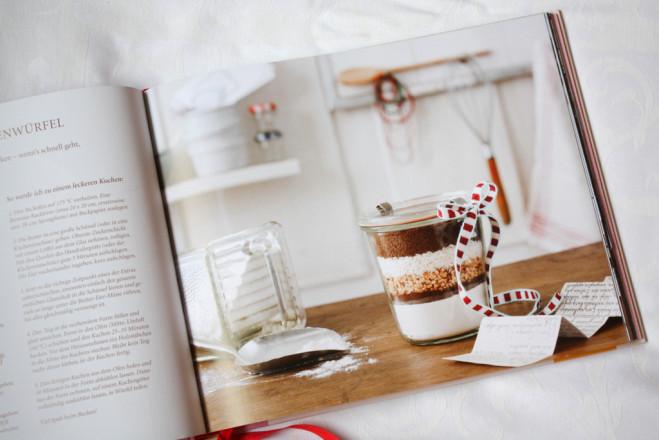 Einblick ins Buch: Backmischung für Ratz-Fatz-Kuchenwürfel
