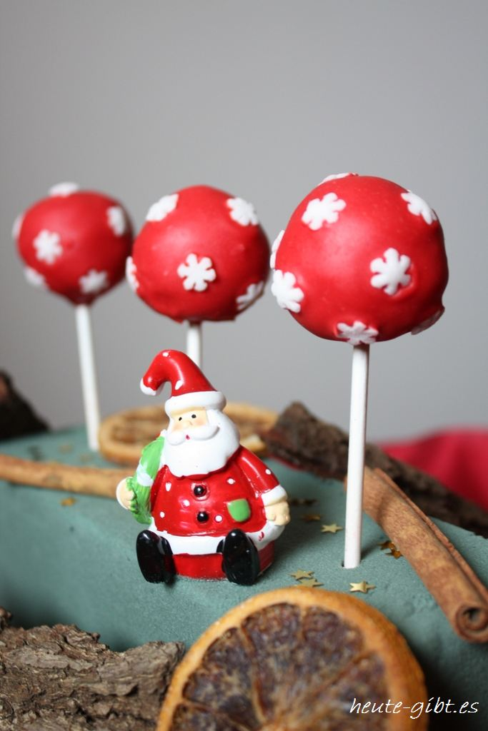 heute gibt es cake pops x mas style. Black Bedroom Furniture Sets. Home Design Ideas