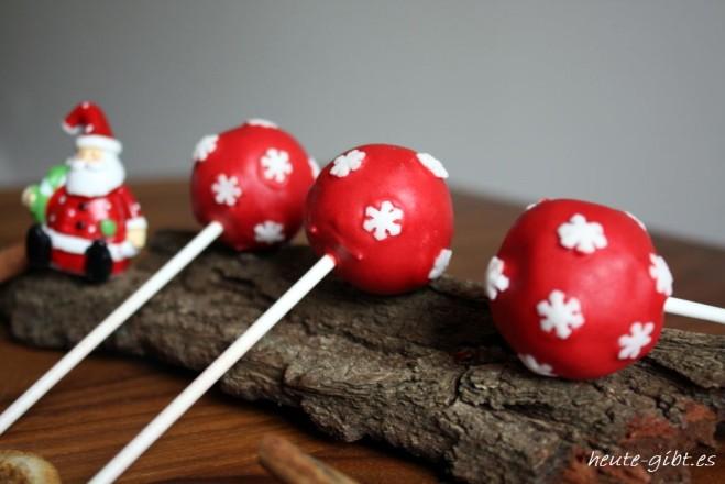 Cake-Pops mit Zimtfrosting
