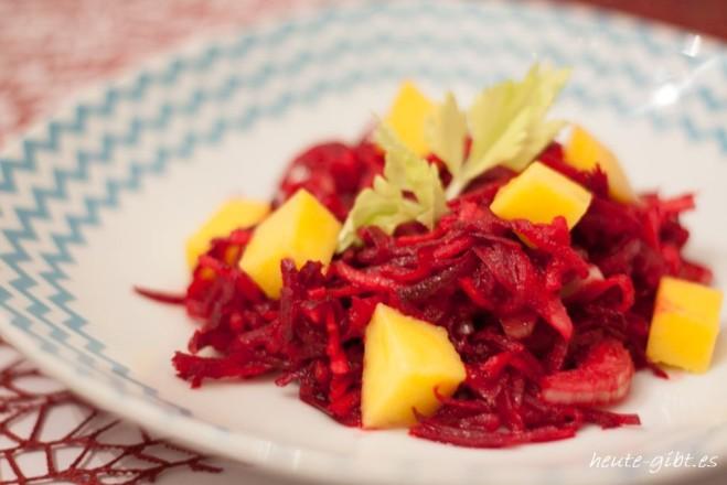 Veganer Rote-Bete-Salat
