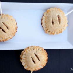 Leckere Apple-Pie-Pops