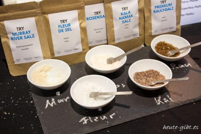 Salzauswahl von TRY FOODS