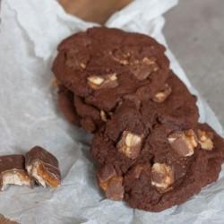 Leckere schokoladige Cookies