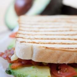Leckerer Avocadosandwich