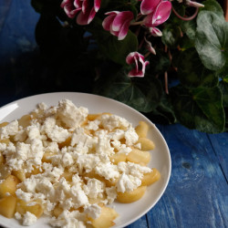 Peach Salad with Feta
