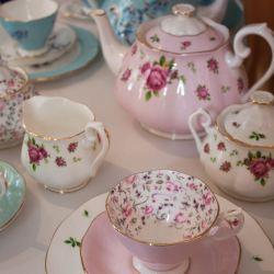 Hübsches Teeservice
