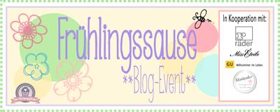 """Blogevent """"Frühjahrssause"""""""