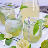 Basil-Lime-Lemonade