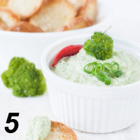 Broccomole - Broccoli-Dip