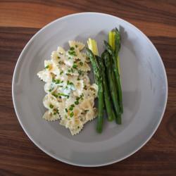 Pasta mit Spargel