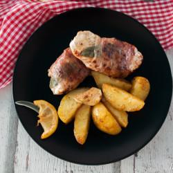 Saltimbocca à la Christian Henze und Zitronenkartoffeln