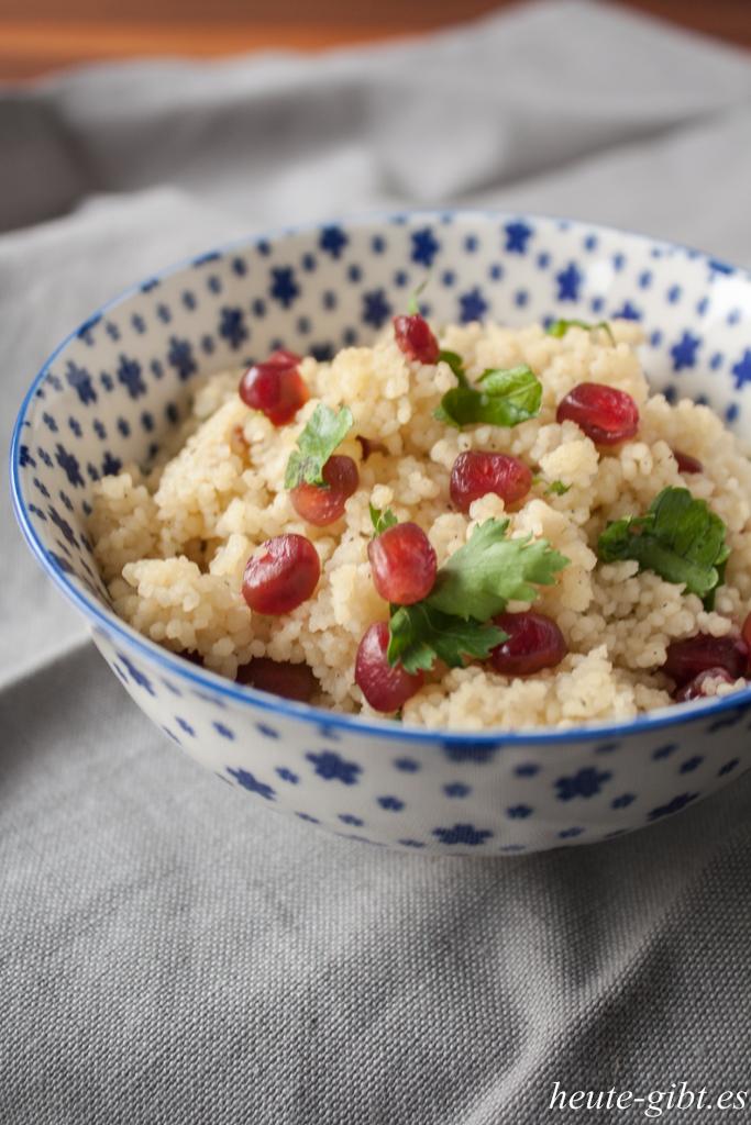 Couscous mit Granatapfel