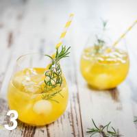 Melonen-Mango-Bowle