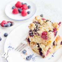 Beeren Streusel Kuchen