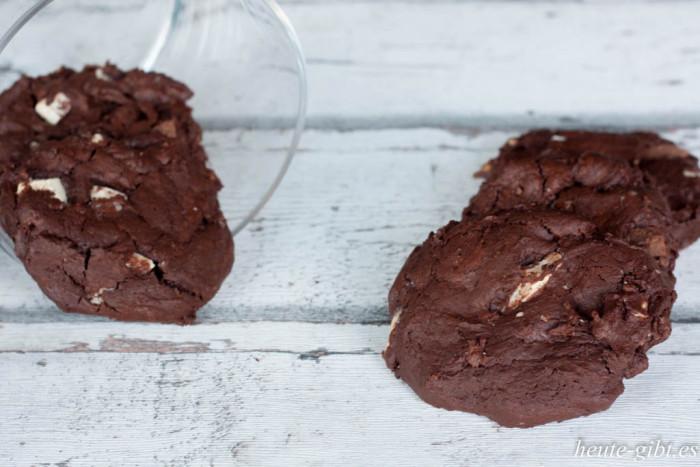 Schoko-Cookies mit Espresso