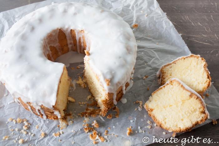 Glutenfreier Kuchen mit Rum