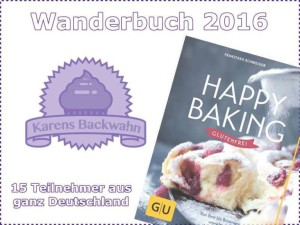 "Wanderbuchaktion ""Happy Baking glutenfrei"""