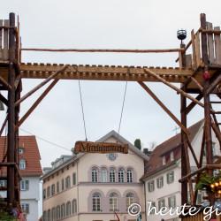 Eingang Mittelaltermarkt Esslingen