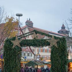 Eingang Weihnachtsmarkt Esslingen