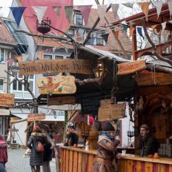 Hafenmarkt medieval market Esslingen