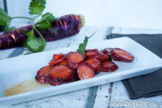 Balsamicomöhren, lila Karotten, violett, Urkarotten, Balsamicoessig