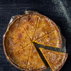 particularly, squash, tart, creme brulee, autumn, vanilla