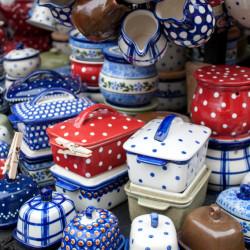 colorful pottery Esslingen