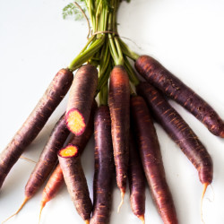 Balsamic carrots, purple carrots, Urkarotten, balsamic vinegar, originally
