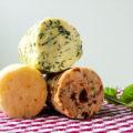 Dreierlei Kräuterbutter Rezept Butter Raclette