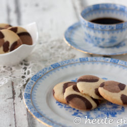 Leopards biscuits - cookies with leopard pattern simple homemade