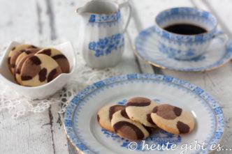 Leoparden Kekse - Cookies mit Leo-Muster einfach selbstgemacht