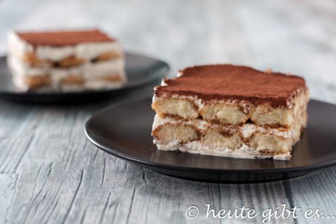 Tiramisu - the classic without egg