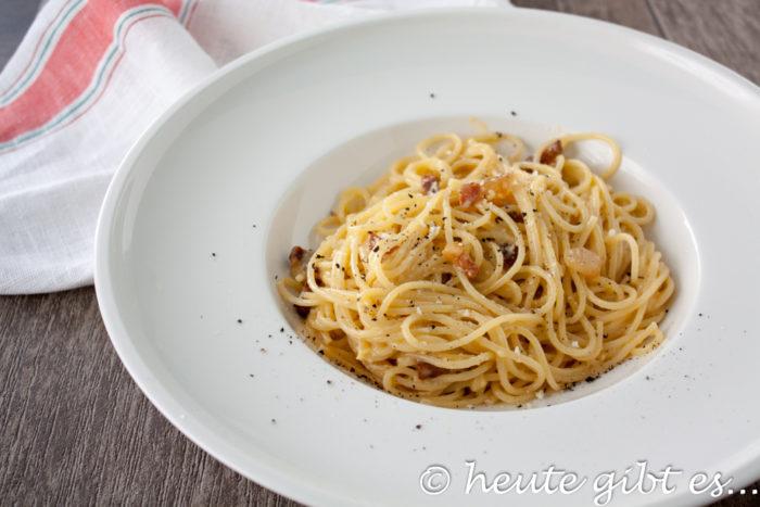 Spaghetti alla carbonara - in 11 Minuten zum perfekten Gericht - Tipps und Tricks
