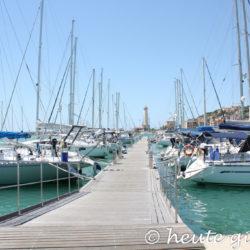 Sizilien: Hafen Licata - Porto