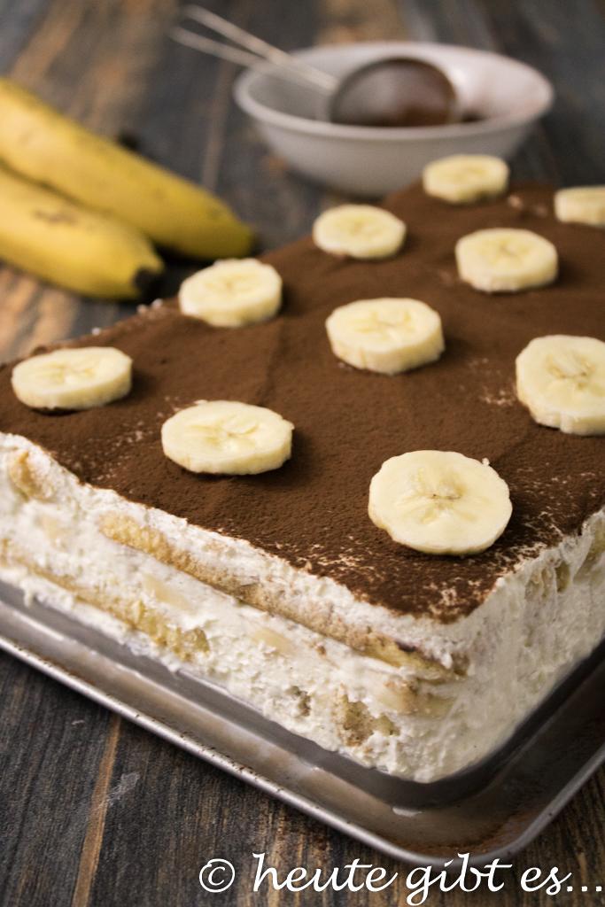 Heute Gibt Es Bananen Tiramisù