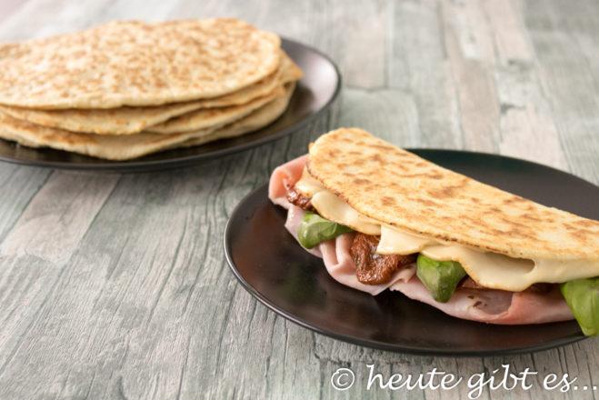 Piadina Romagnola: Italian Street Food - pita bread