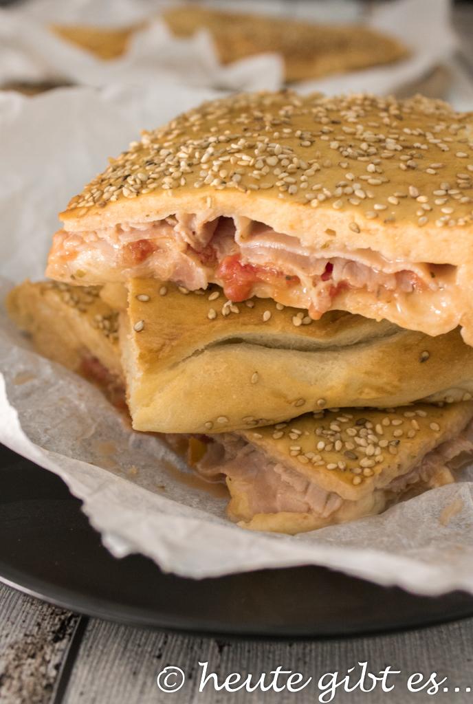 heute gibt es... Mattonella palermitana - Pizza-Allternative