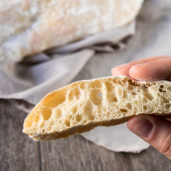 Ciabatta - the classic Italian bread