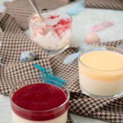 Eierlikör-Panna-Cotta: Variante zu Ostern des Dessertklassikers