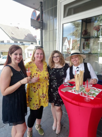 """Blog Event & quot; fragole provenienti da Europa"""" con Lea Linster"""