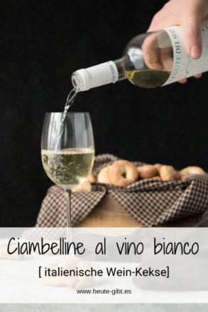 Ciambelline al vino bianco, deliziosi biscotti di vini provenienti da Italia