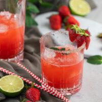 Erdbeer-Daiquiri einfacher Sommer-Cocktail Rezept